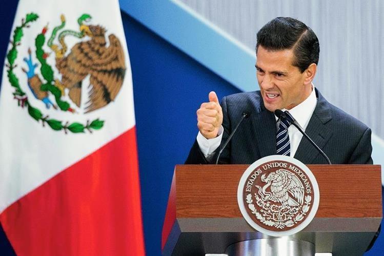"""La fuga de el Chapo ha significado un """"bochorno"""" internacional para Enrique Peña Nieto, presidente de México. (Foto Prensa Libre: AP)."""