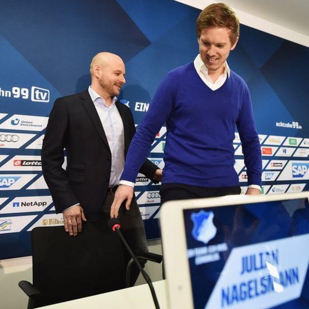 El 12 de febrero de 2016 fue presentado como entrenador y al día siguiente guió al equipo a un empate 1-1 de visitante contra el Werder Bremen. (Foto Prensa Libre: Getty Images)