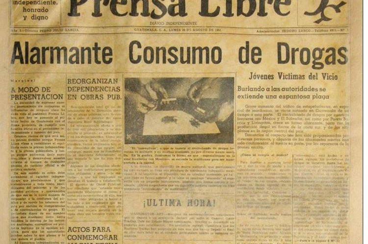 En 1951, nace Prensa Libre influida por la tecnología de imprenta y el linotipo. (Foto Prensa Libre: Hemeroteca PL)