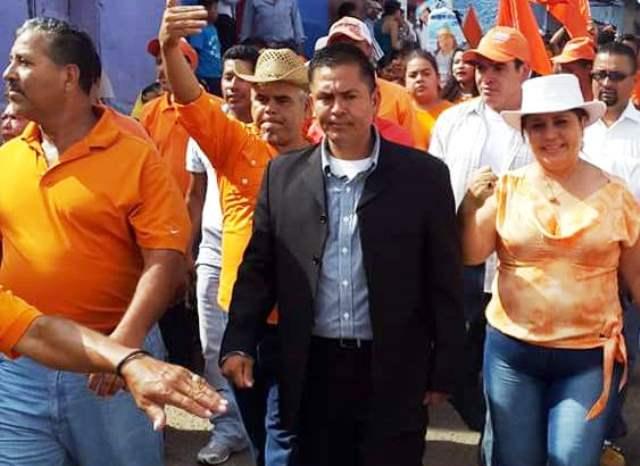 Diter Obdulio Ramírez Reyes fue candidato a la alcaldía, en las elecciones anteriores, por el Partido Patriota. (Foto Prensa Libre: Oswaldo Cardona)