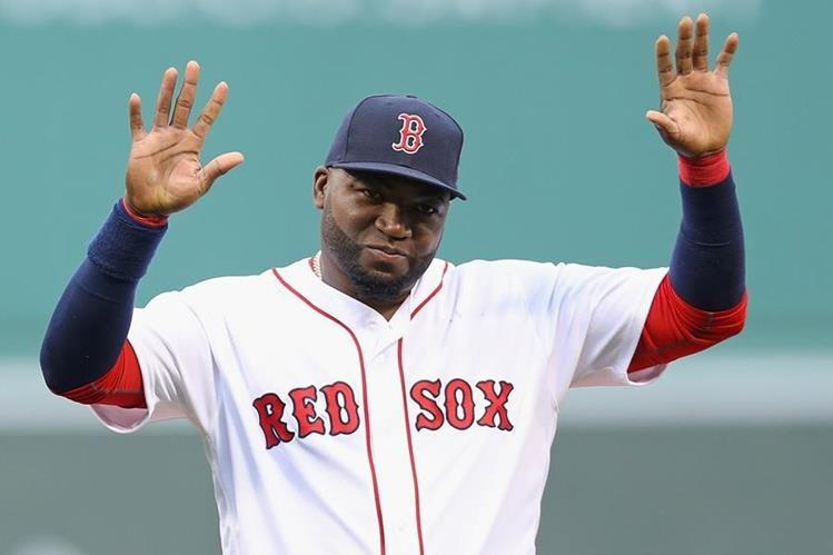 David Ortíz es hizo historia con el equipo de Boston. (Foto Prensa Libre: AFP)