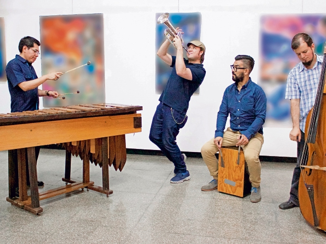 La agrupación Jazzimba se integró en el 2014. (Foto Prensa Libre: Cortesía Festival de Junio)