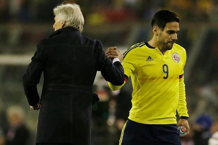 El delantero Radamel Falcao, máximo goleador de Colombia en las eliminatorias para el Mundial de Brasil 2014. (Foto Prensa Libre: Hemeroteca PL)