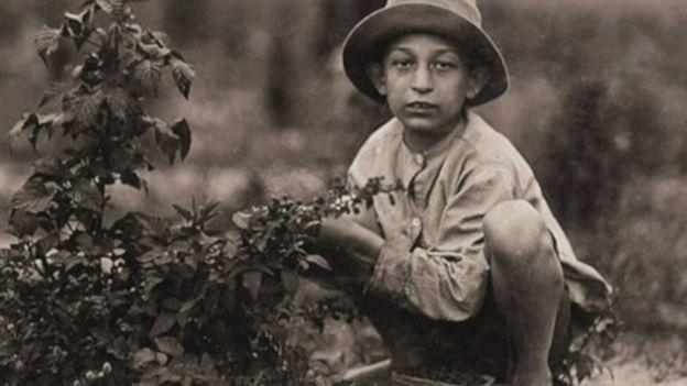 Un niño trabajando en el campo. (Foto: Lewis Hines / Cortesía del Archivo Nacional de Estados Unidos)