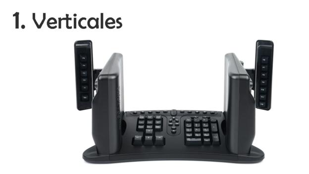 """Los promotores de este tipo de teclado, que se antoja parecido a un acordeón y que producen empresas como Safetype, sostienen que es el único que no traslada el problema a otra parte del cuerpo. Aseguran que es """"neutral ortopédicamente"""" y la forma más natural de teclear. (SAFETYPE)."""