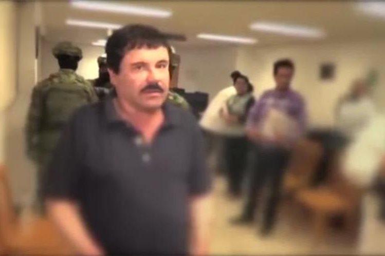El capo mexicano, Joaquín <em>el Chapo</em>&nbsp; Guzmán.