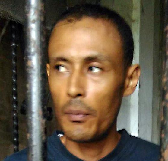 Philips Danilo Koo Gamboa fue condenado a 25 años de prisión por parricidio en Lívinston, en el 2016. (Foto Prensa Libre: Dony Stewart)