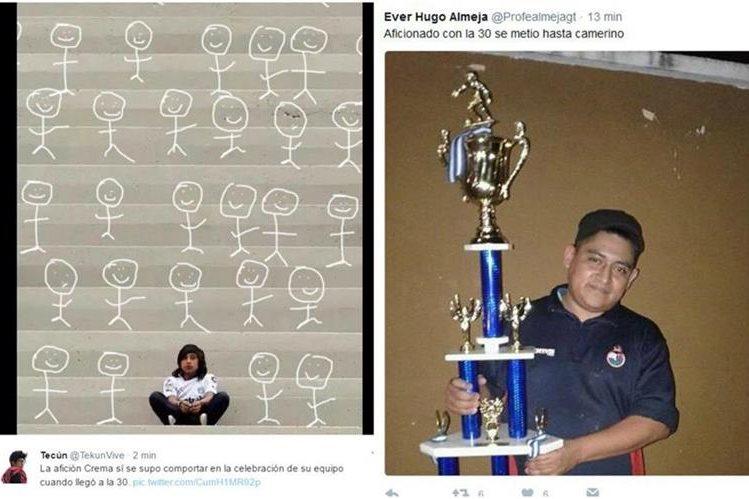 Los internautas no perdieron tiempo para las burlas en las redes sociales. (Foto Prensa Libre: Twitter)