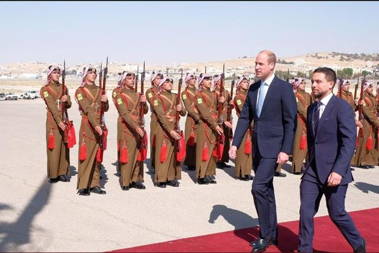[FOTOS] Inédita visita del príncipe William a Israel
