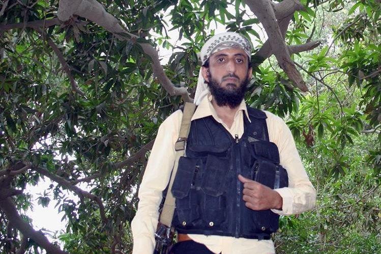 Jalal Belaidi, alias Abu Hamza al Zinjibari, murió junto con dos de sus guardaespaldas. (Foto Prensa Libre: AFP).