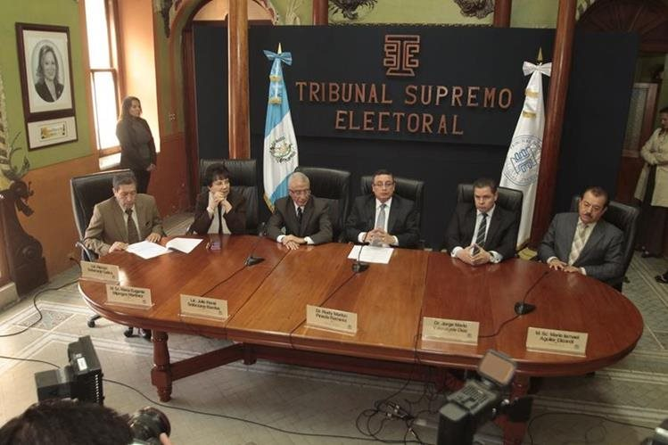 El TSE rechazó las impugnaciones de diputados electos a quines no se les adjudicó el cargo por falta de idoneidad. (Foto Prensa Libre: Hemeroteca PL)