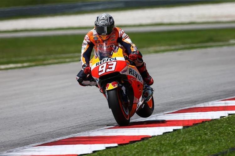 El piloto español Marc Márquez no quiso entrar en polémica respecto a las declaraciones del italiano Valentino Rossi. (Foto Prensa Libre: Hemeroteca)