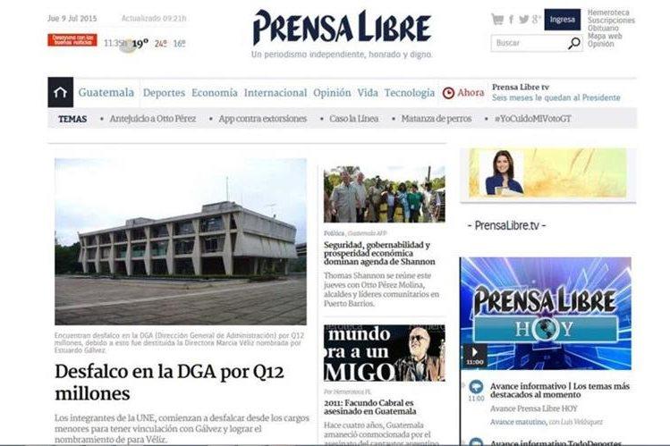 El 2 de marzo de 2015 se lanza el nuevo diseño de Prensalibre.com.
