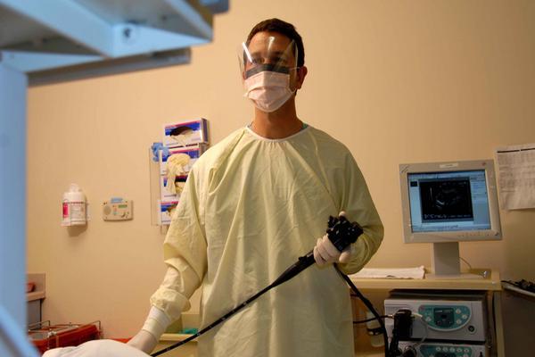 Michael Wallace, gastroenterólogo y profesor de Medicina, de la Mayo Clinic.