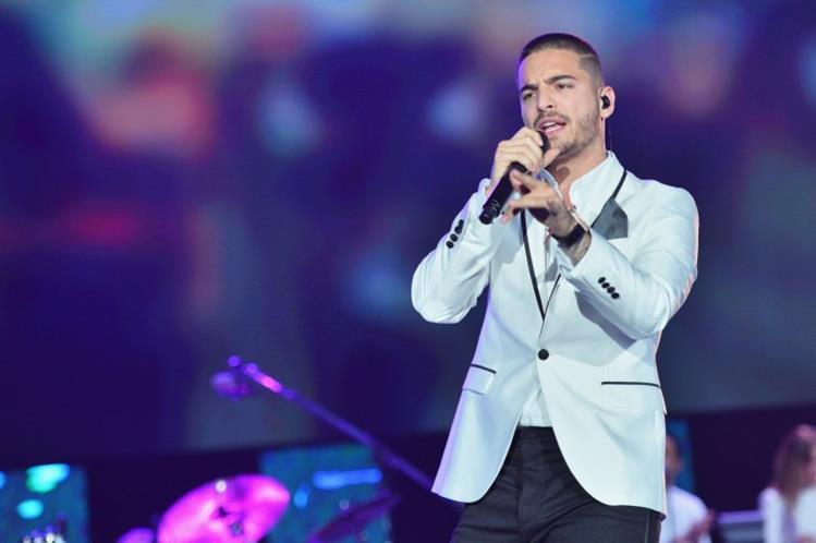 Maluma está postulado a siete galardones en los premios Billboard a la música latina. (Foto Prensa Libre: EFE)