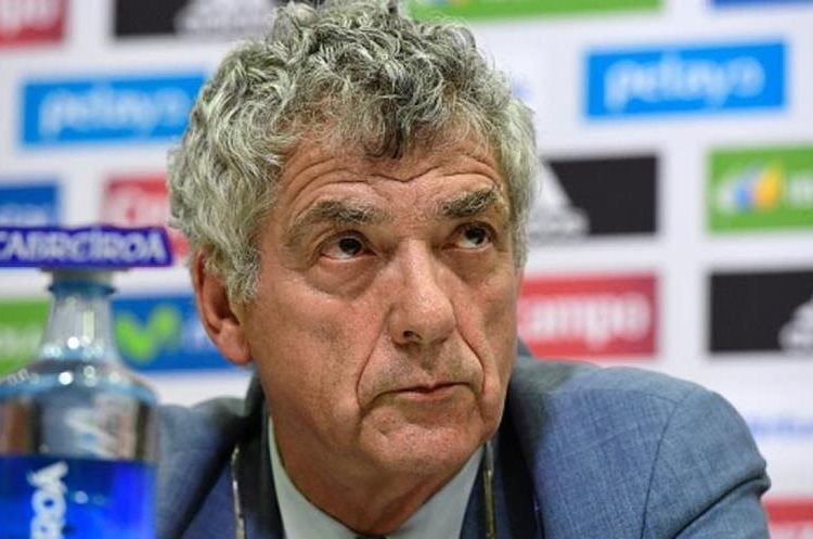Ángel María Villar, presidente de la Real Federación Española de Fútbol (RFEF), fue detenido este martes. (Foto Prensa Libre: AFP)