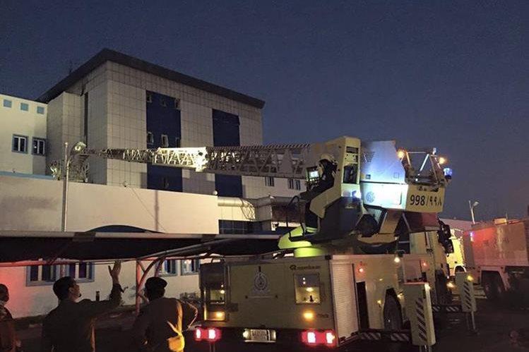 Incendio en hospital de Arabia Saudí deja 25 muertos y heridos. (EFE)