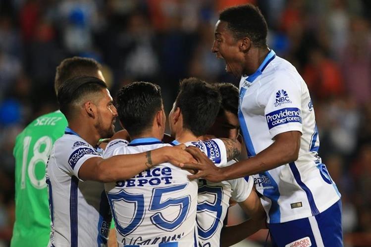 El equipo mexicano aspira a consagrarse en el torneo de Concacaf. (Foto Prensa Libre: EFE)