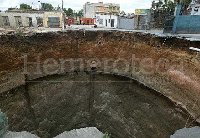 El agujero tenía una profundidad de unos 65 metros.  (Foto: Hemeroteca PL)