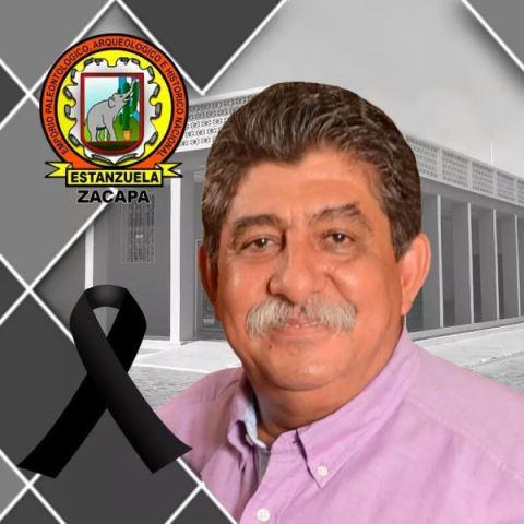 Fotografía del fallecido alcalde Julio Girón divulgada por la comuna que dirigió. (Foto Prensa Libre: Municipalidad de Estanzuela).