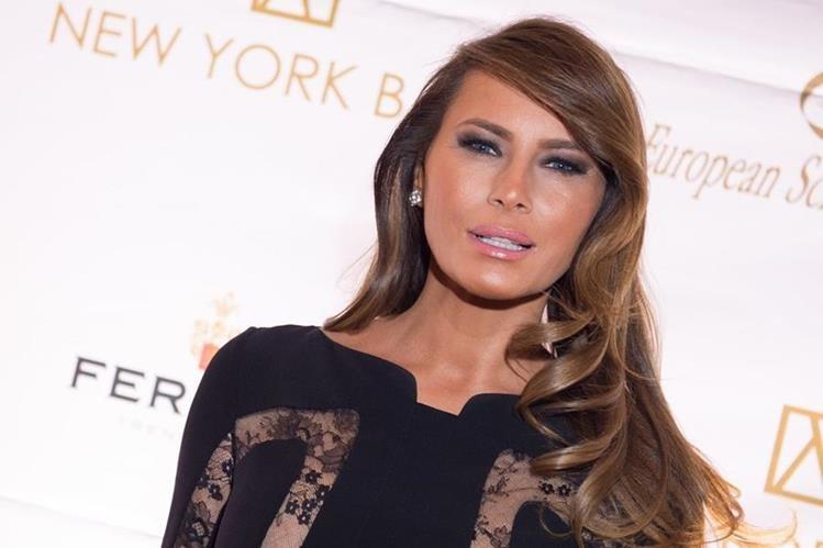 Melania Trump, esposa del precandidato republicano Donald Trump. (Foto Prensa Libre: AP).
