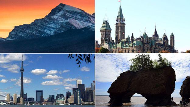 """En 2015 en el Índice Global de Reputación, un ranking de países desarrollados, Canadá fue descrito como el """"más admirado"""". GETTY IMAGES"""