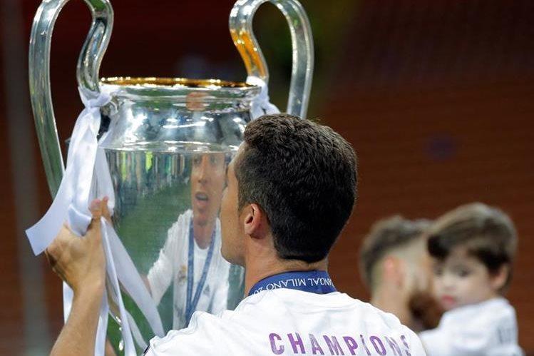 El Real Madrid es el actual campeón de la Liga de Campeones, además de ser el más ganador de la competición. (Foto Prensa Libre: AP)