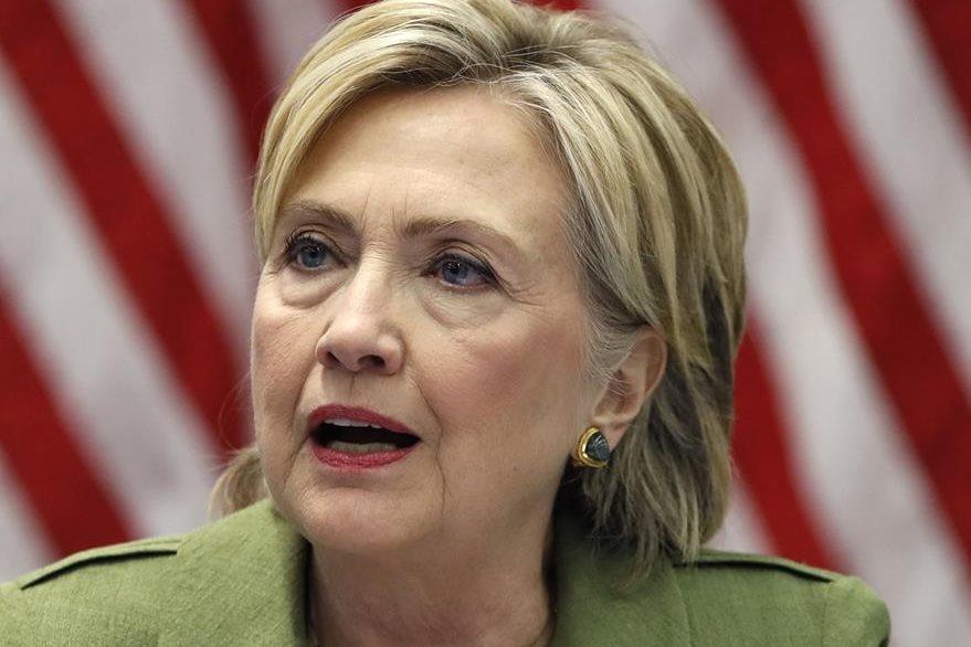 La demócrata Hillary Clinton canceló su agenda pública desde el fin de semana último cuando sufrió un desmayo. (Foto Prensa Libre: AP).