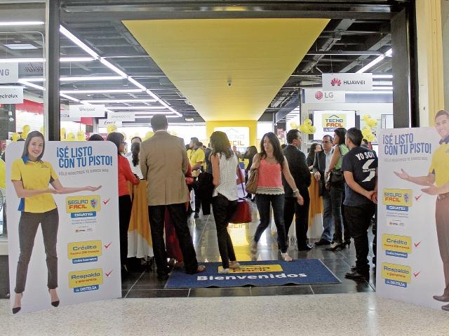 El formato de tiendas mide aproximadamente 300 a 450 metros cuadrados.(Foto Prensa Libre: Hemeroteca PL)