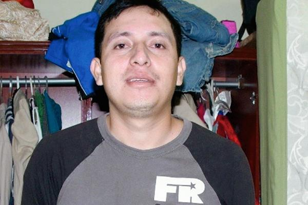 José Monzón  fue capturado en la zona 8 de Quetzaltenango. (Foto Prensa Libre: Alejandra Martínez)
