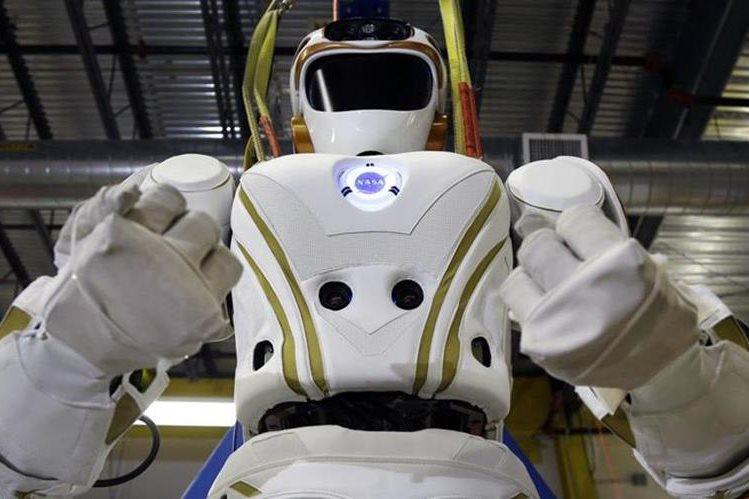 El robot Valkyrie, uno de los autómatas creados por la Nasa. (AP).