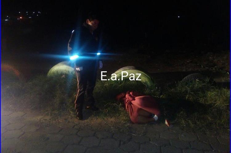 El cuerpo de una mujer fue localizado en San José Villa, Nueva (Foto Prensa Libre: Pampichí News).