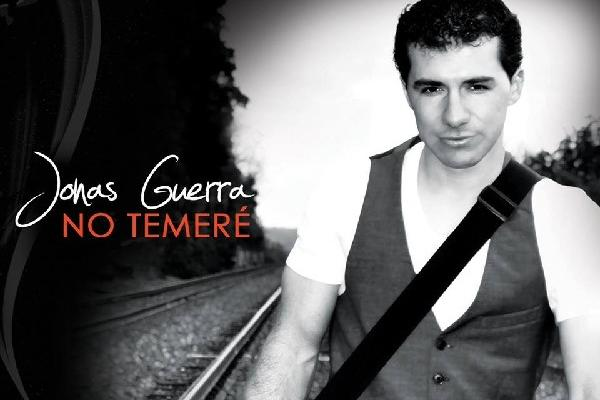 Portada del álbum No Temeré, del cantante guatemalteco Jonás Guerra.