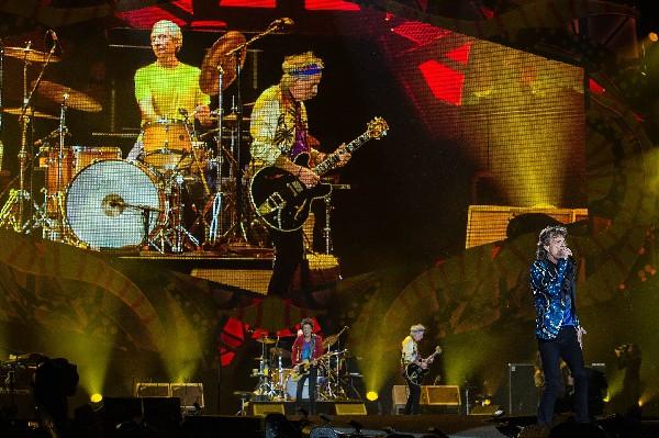 Rolling Stones atrapan al público en Brasil. (Foto Prensa Libre: EFE)