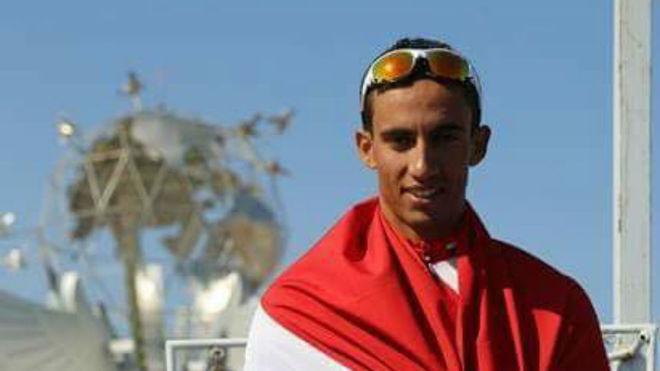 El ciclista egipcio Islam Nasser falleció cuando competía en Sudáfrica, debido a un infarto (Foto Prensa Libre: tomada de internet)