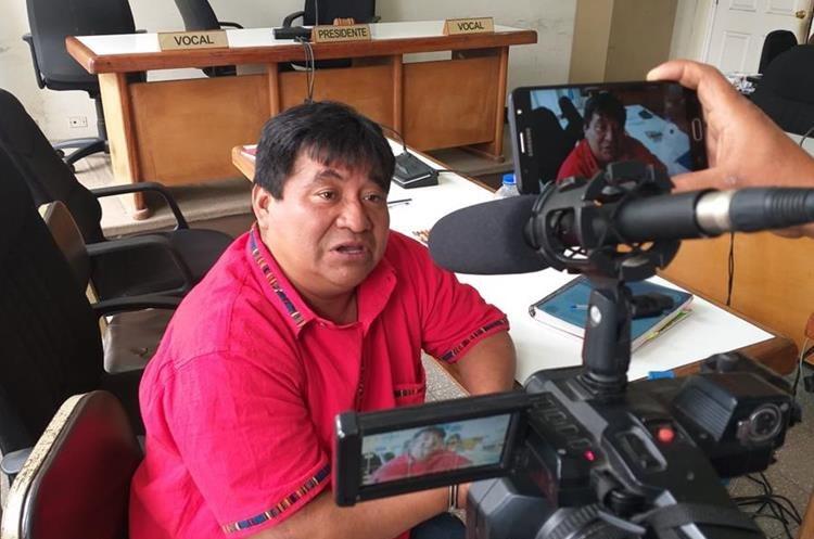 Bernardo Caal Xol fue sentenciado a más de siete años de cárcel en Cobán, Alta Verapaz. (Foto Prensa Libre: Auri Andersen)