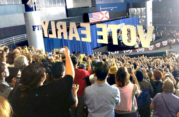 Según estudios las actuales elecciones han generado estrés en la población. (Foto Prensa Libre: Eswin Quiñónez)