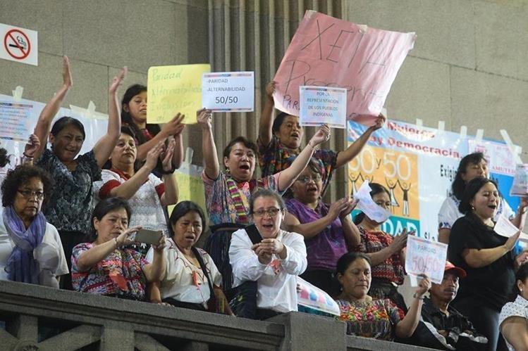 La resolución de la CC que beneficia a femicidas causó rechazo. (Foto: Hemeroteca PL)