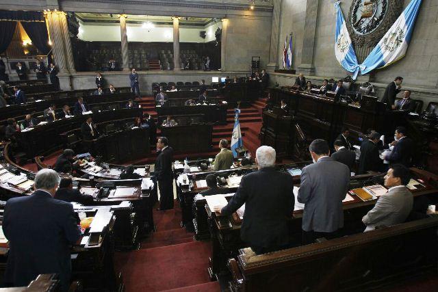 El Congreso aprobó un solo artículo de las reformas a la Constitución. (Foto Prensa Libre: Paulo Raquec)