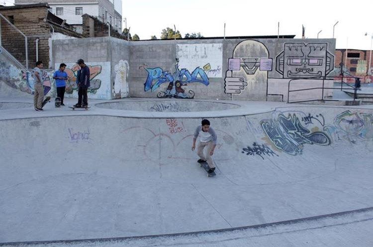 El Parque Extremo de Quetzaltenango será una de las sedes de las actividades para el congreso de la juventud. (Foto Prensa Libre: María Longo)