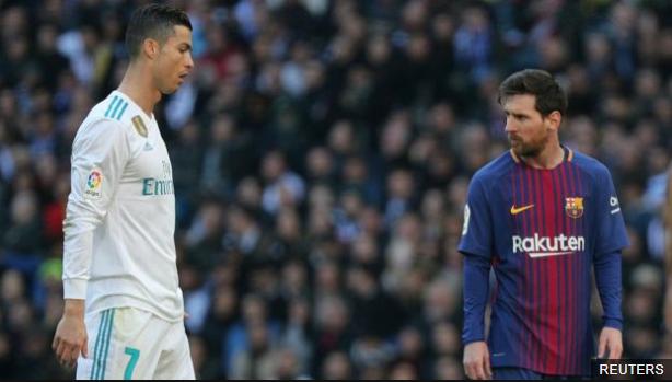 Tuvo que pasar siete años para no ver a Messi o Ronaldo como el máximo goleador del fútbol europeo en un año natural. (Foto Prensa Libre: BBC Mundo)