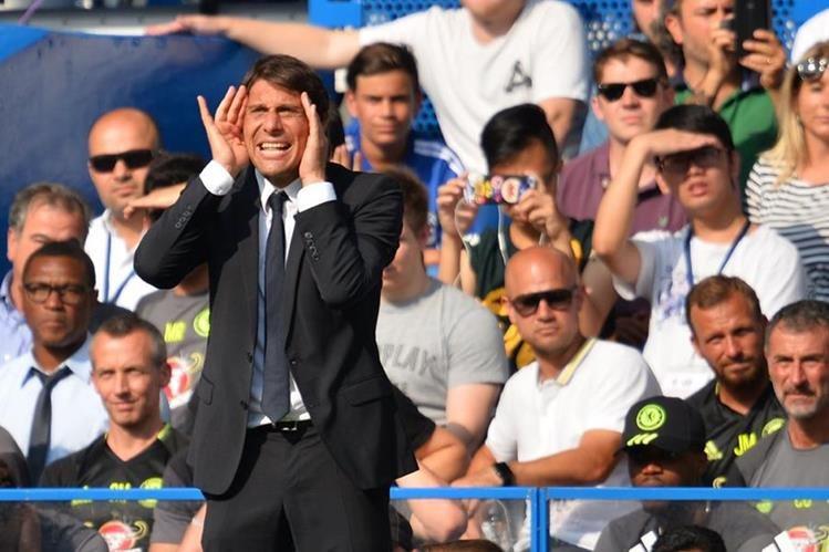 Conte espera que David Luiz vuelva a transmitir personalidad a la defensa del Chselsea. (Foto Prensa Libre: Hemeroteca)
