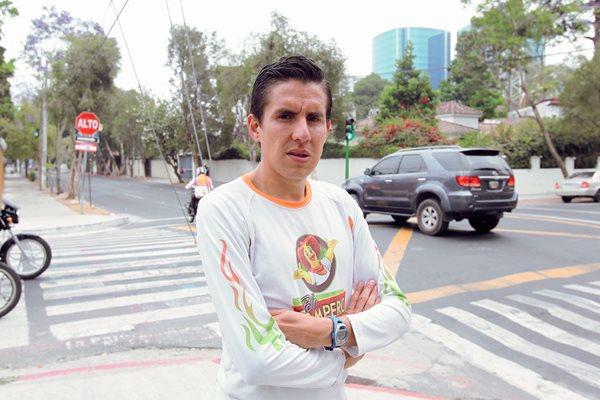 Luis Carlos Rivero espera lucirse en la prueba de 10 kilómetros. (Foto Prensa Libre: Allan Martínez).