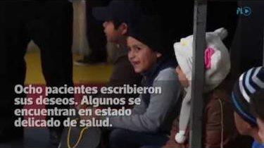 Lectores de Prensa Libre cumplen deseos de pequeños con cáncer