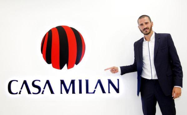 Leonardo Bonucci sería el mejor pagado de la Serie A. (Foto Prensa Libre: Instagram AC Milan)