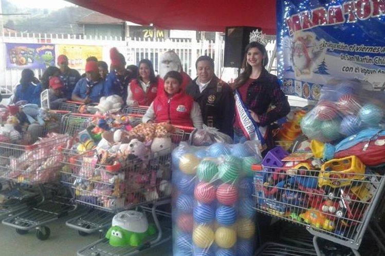 La tercera edición de la maratón del juguete pretende beneficiar a niños de las comunidades de Quetzaltenango. (Foto Prensa Libre: Cortesía)