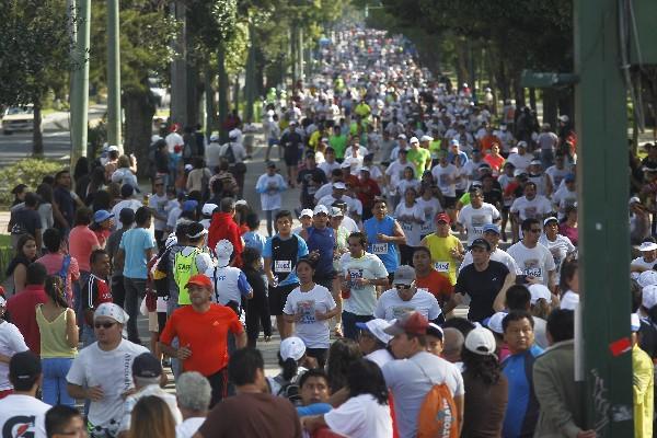 Los organizadores esperan una participación masiva de corredores. (Foto Prensa Libre: Hemeroteca PL)