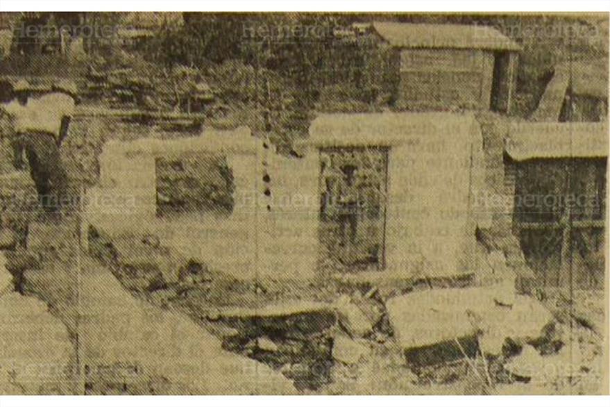 La mayoría de viviendas dañadas por el terremoto de 1976 era de adobe. (Foto: Hemeroteca PL)