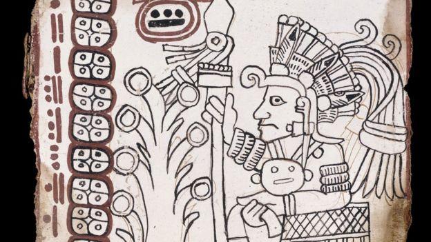 Un facsímil del códice acompaña a la investigación publicada en la revista estadounidense Arqueología Maya. ENRICO FERORELLI