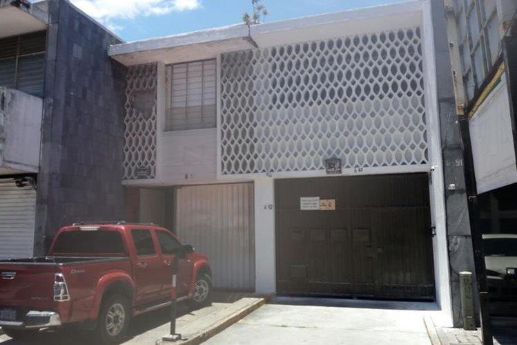El edificio Valser fue dado como pago de honorarios al abogado Mario Cano, por Roxana Baldetti. (Foto Prensa Libre: MP)